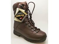 NEW KARRIMOR Special Forces Military Cold Weather Lightweight Brown Boots UK Size 9 Wide Fitting