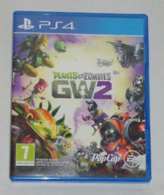 SONY PLAYSTATION PS4 GAME PLANTS VS ZOMBIES GW2 VERSUS GARDEN WARFARE 2 EA PAL 7