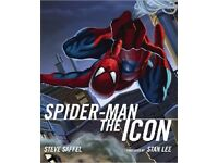 spiderman the icon book as new