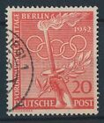 Berlin Olympics Used Stamps