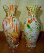 Vintage Coloured Glasses