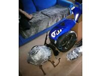 gilera dna 180 125 engine and parts cdi fairing etc 4 stroke