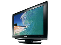 Flat Screen Television with DVD Player