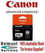 Canon 640 Ink