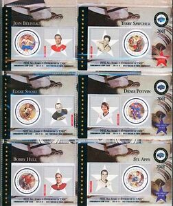 Sports Collectible Cards. NHL All Stars - Canada Post