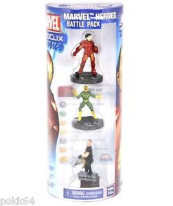 Marvel battle pack 3 figurines HeroClix Classics Heroes Iron Man Punisher 700075