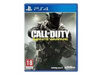 Call of Duty Infinite Warfare PS4 like New