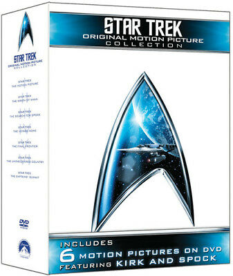Star Trek: The Original Motion Picture Collection [New DVD] Boxed Set, Dubbed,