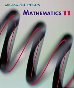 Mcgraw-Hill Ryerson Mathematics 11 (CD included)