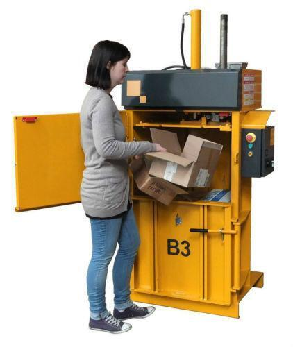 How Does A Commercial Trash Compactor Work Cardboard Baler