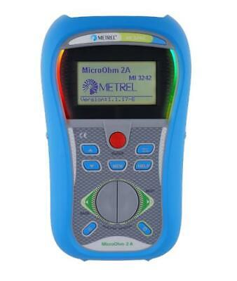 Metrel Mi 3242 Microohm 2a Dlro Low Resistance Ohmmeter 1 Up To 199.9