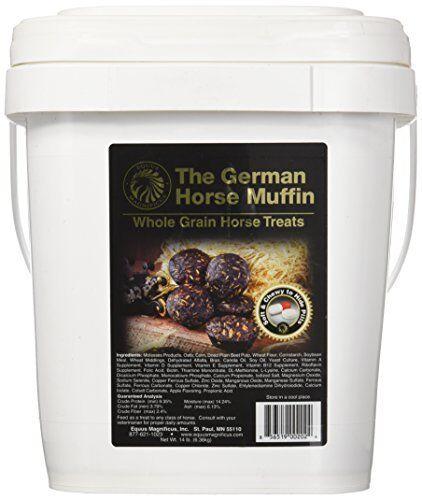 Equus Magnificus German Horse Muffins Bucket 14-Pound