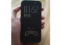 HTC One M8 (unlocked) with Dot view case