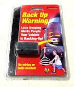 Back Up Warning