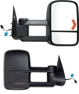 2003 2004 2005 2006 New Pair Mirrors Chevrolet Silverado 1500 2500 HD W/ Signal