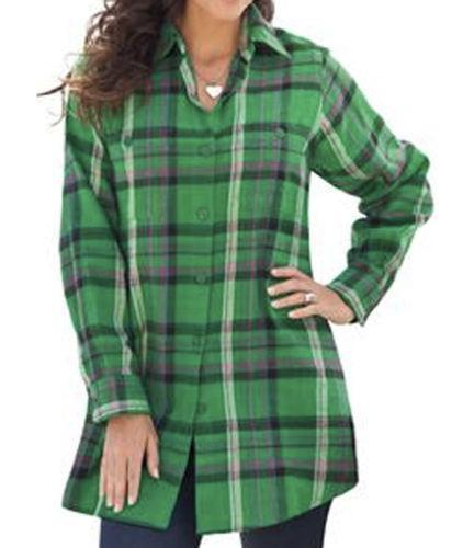 Womens Plus Size Flannel Shirts Ebay Autos Post