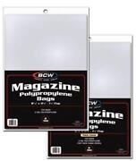Magazine Plastic Sleeves