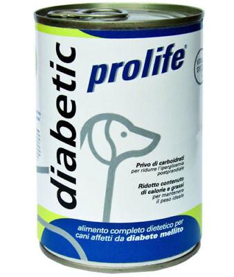 Alimento umido cane PROLIFE Veterinary Formula DIABETIC 400 g