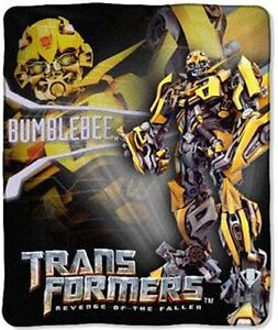 Transformers-Fleece-50x60-Blanket-Bumblebee