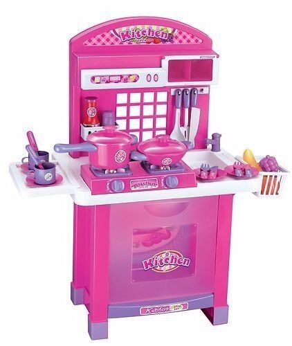 Childs Toy Kitchen, Hob lights up with sounds