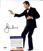 Roger Moore Autograph