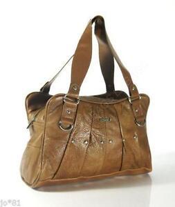 Vintage Tan Leather Bags