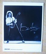 Brian May Signed