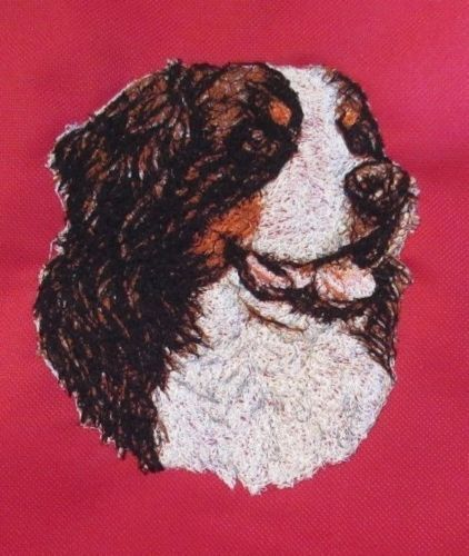 Embroidered Long-Sleeved T-shirt - Bernese Mountain Dog AED14847 Sizes S - XXL