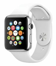 * Apple Watch Sport*~* 38mm Silver Aluminum *~* w/ White Sport Band *~* FASTEST!