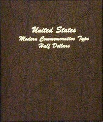 New DANSCO Modern Commemorative Type Half Dollar 1983 to date Coin album#7061