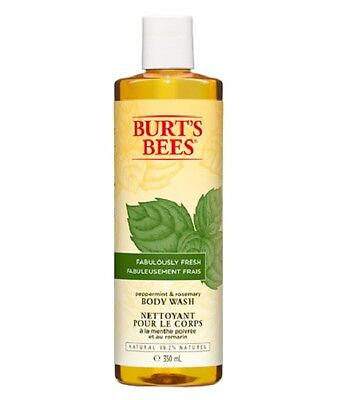 Burt's Bees Fabulously Fresh Peppermint & Rosemary Body Wash 350ml