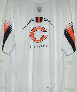 Chicago Bears NFL Reebok Sideline Speedwick T Shirt