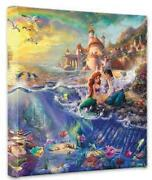 Thomas Kinkade Disney Little Mermaid