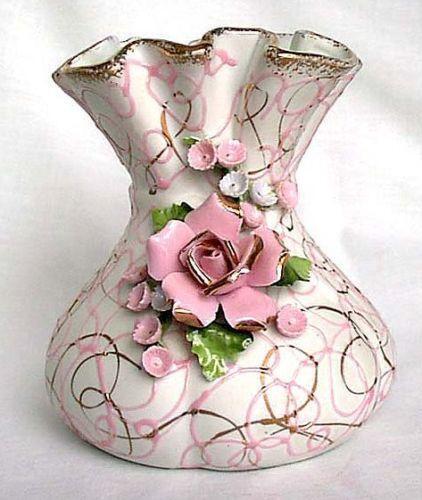 Lefton Vase Ebay