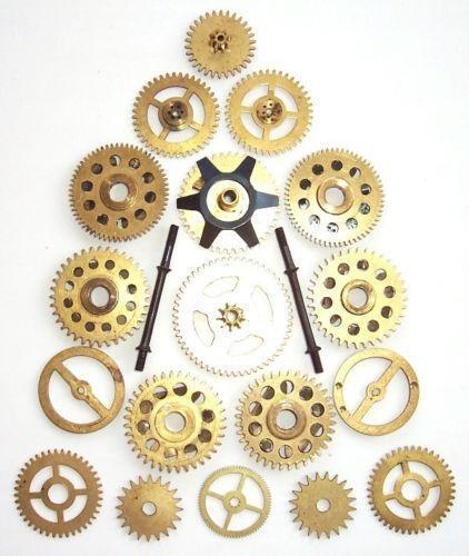 Old Clock Gears : Vintage clock gears ebay