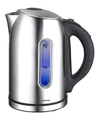 Ovente 1.7L Stainless Steel Cordless Electric Hot Water Tea Kettle Boiler Warmer