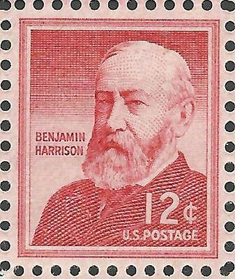 VINTAGE 1959 23rd President of the United States Benjamin Harrison US Stamp (The 23rd President Of The United States)