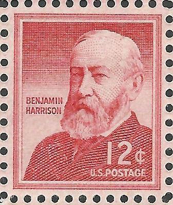 VINTAGE 1959 23rd President of the United States Benjamin Harrison US Stamp