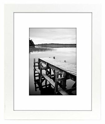 Picture Frame White Wood 8×10 11×14 4×6 5×7 9×12 Hang Hardware Inc Frames
