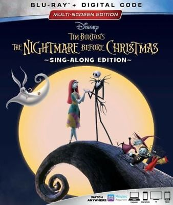 The Nightmare Before Christmas: Sing-Along Edition (BluRay) Ships in 12 hours!!!](Disney Halloween Sing Along Dvd)