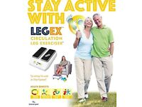 LegEx. Circulation Leg Exerciser, With Remote Control. AS SEEN IN PRESS