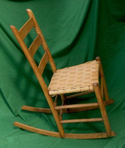 Ladder Back Rocking Chair Ebay
