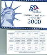 2000 US Proof Set