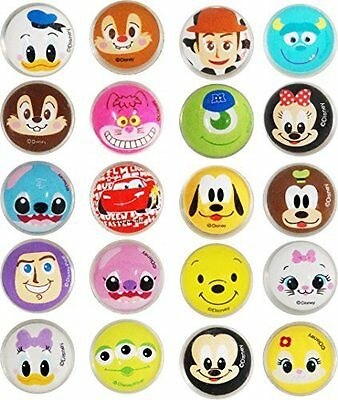 Disney all-star face pattern bouncy ball27 27mm x 100