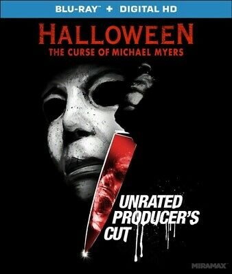 Halloween 6: The Curse of Michael Myers (Producers Cut, Unrated) BLU-RAY - Halloween 6 Producer's Cut Blu Ray