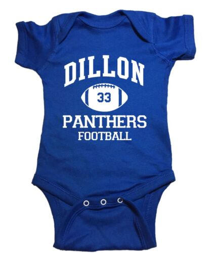 """Friday Night Lights Baby One Piece """"Dillon Panthers"""" Bodysuit"""