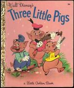 Little Golden Book Three Little Pigs