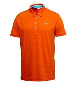 Puma golf shirt ebay for Mens puma golf shirts