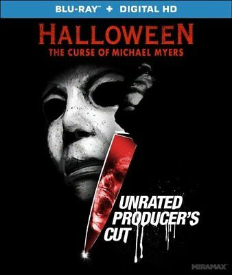 Horror Movie Halloween 6 The Curse of Michael Myers Unrated Producers Cut - Halloween 6 Producer's Cut Blu Ray