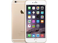IPHONE 6+ Good Condition (16gb) all sims (metallic gold )